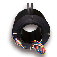 Through-bores slip ring,all size for through bore,fit for cable reels,process equipment