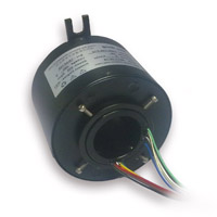 Slip Ring with 38.1mm Through-Bores